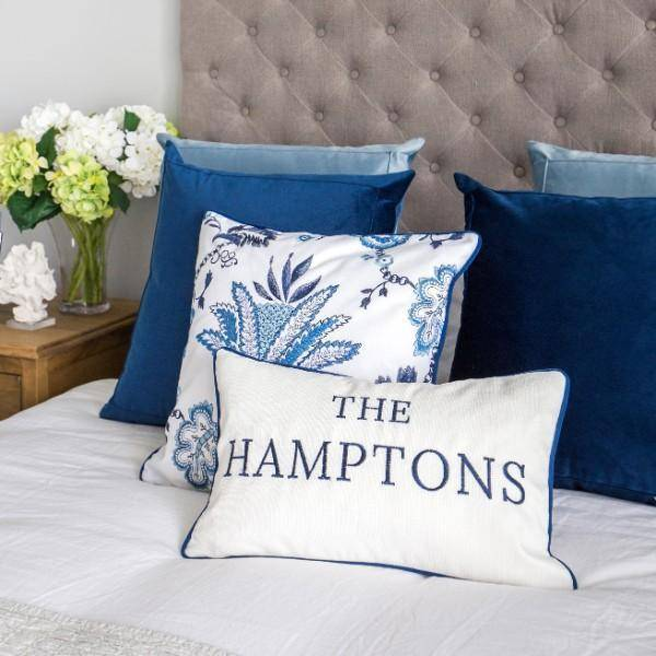 THE HAMPTONS Cushion Cover 30 cm by 50 cm - Hamptons Home {product_type] Hamptons style Furniture