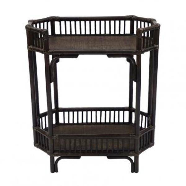 Crawford Bar Cart - Tobacco - Hamptons Home {product_type] Hamptons style Furniture