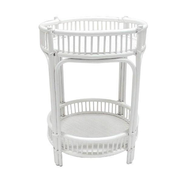 Hawthorne Bar Cart White - Hamptons Home {product_type] Hamptons style Furniture