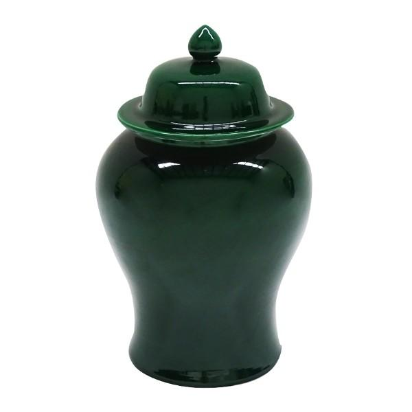 BOWIE Emerald Green Ginger Jars Set of 2 | Hamptons Home
