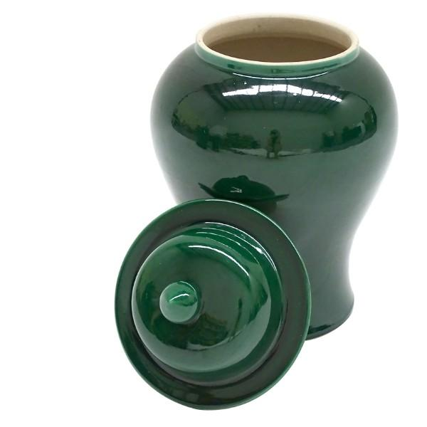BOWIE Emerald Green Ginger Jars Set of 2 - Hamptons Home {product_type] Hamptons style Furniture