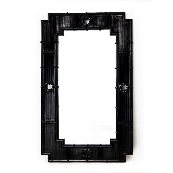 La Mer Mirror – Black - Hamptons Home {product_type]