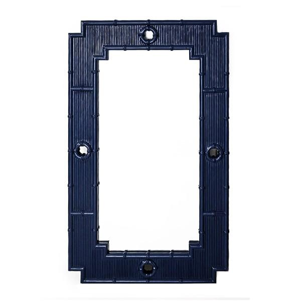 La Mer Mirror – Navy - Hamptons Home {product_type]