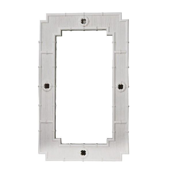 La Mer Mirror – White - Hamptons Home {product_type]