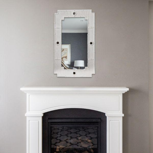Home Decor - La Mer Mirror – White