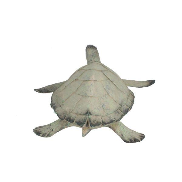 Home Decor - Resin Seabreeze Turtle Ornament 48 Cm | Hamptons Home