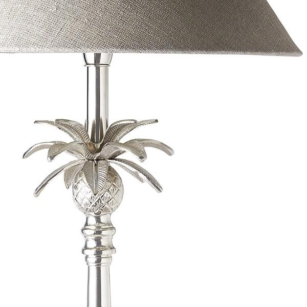 Lamps - Nickel Pineapple Table Lamp Set Of 2 80 Cm H | Hamptons Home