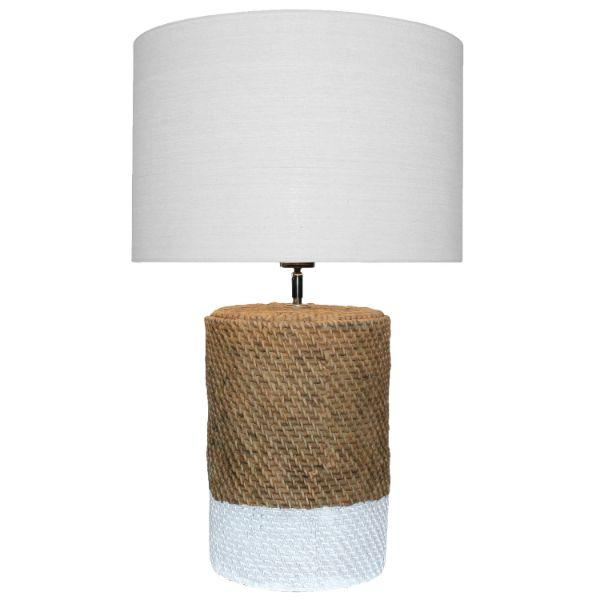 Lamps - Prairie Lamp Natural Bedside Table Lamp 67 Cm H | Hamptons Home