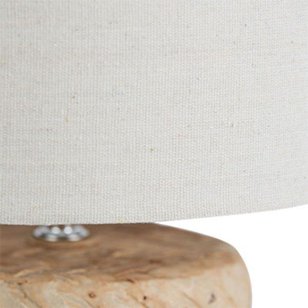 Lamps - Salvage Natural Bedside Table Lamp 54 Cm H | Hamptons Home