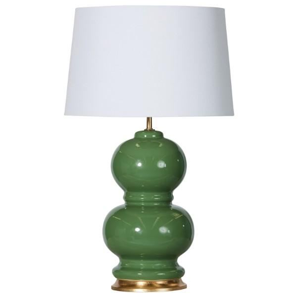 Tahitian Kelly Green Bedside Table Lamp - Hamptons Home {product_type] Hamptons style Furniture