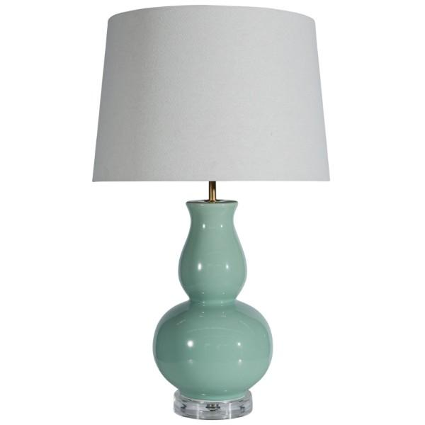 Venezia Mint Bedside Table Lamp - Hamptons Home {product_type] Hamptons style Furniture