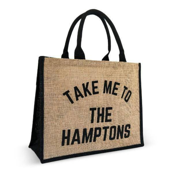TAKE ME TO THE HAMPTONS Market Tote Bag - Hamptons Home {product_type]