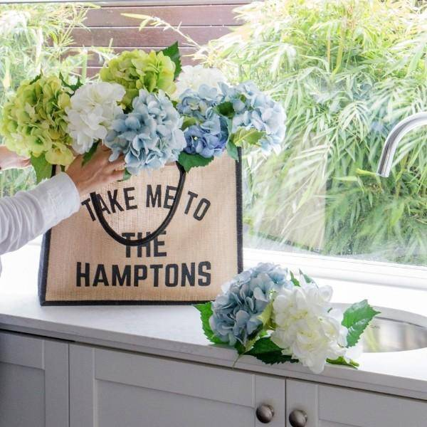 TAKE ME TO THE HAMPTONS Market Tote Bag - Hamptons Home