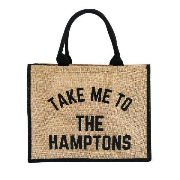 TAKE ME TO THE HAMPTONS Market Tote Bag - Hamptons Home {product_type] Hamptons style Furniture