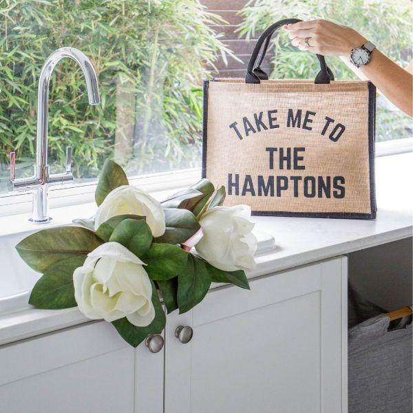Outdoor Bags - TAKE ME TO THE HAMPTONS Market Tote Bag