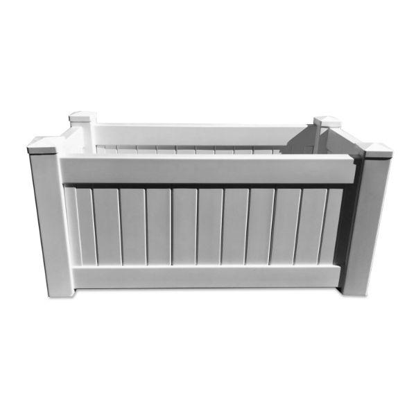 Planter Boxes - NANTUCKET PVC Planter Box Rectangle 95 Cm By 45 Cm
