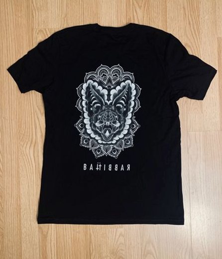 BATRABBIT : the bat god unisex s/s tee (front/back print)