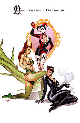 DC Sirens : Once Upon A Time in Gotham City