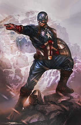 captain america : war front