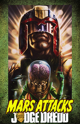 JUDGE DREDD : Mars Attacks