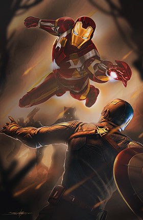 IRON MAN / CAPTAIN AMERICA : Civil war
