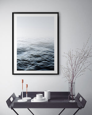 OCEAN CALM  #2 * Contemporary, coastal, photographic, fine art print
