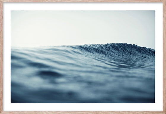 SERENITY 2 Soft Wave Contemporary and Hampton's style coastal wall art