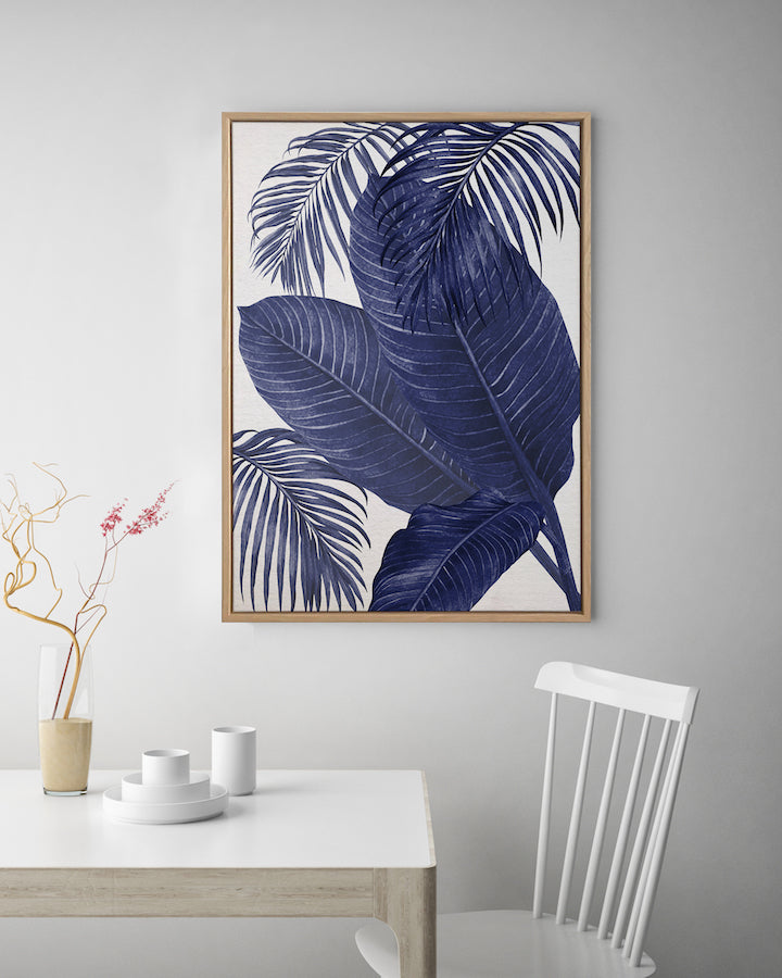 Plantation Blue #3 Canvas Art | Artwork by Wall Style