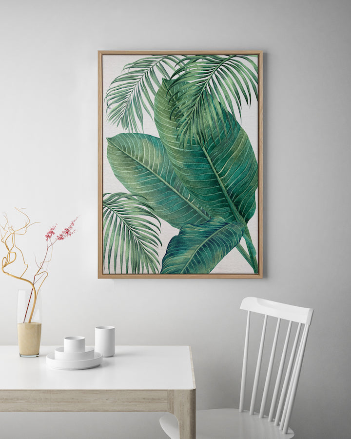 Plantation Green #3 Canvas Art | Artwork by Wall Style