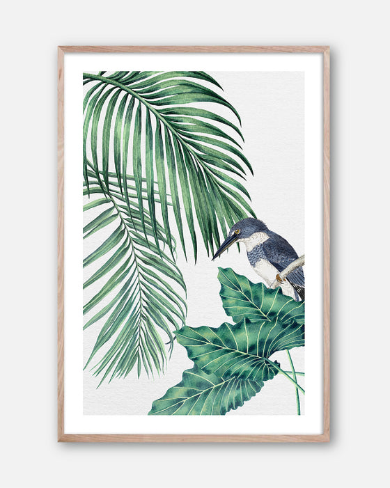 PLANTATION GREEN #4 * Contemporary, tropical fine art print