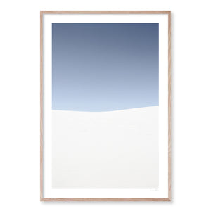 SAND DUNES #3 Contemporary, photographic, ocean style wall art print