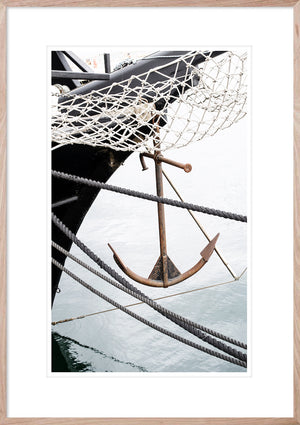 SAIL AWAY 3 *  Hampton's inspired, coastal wall art fine art print