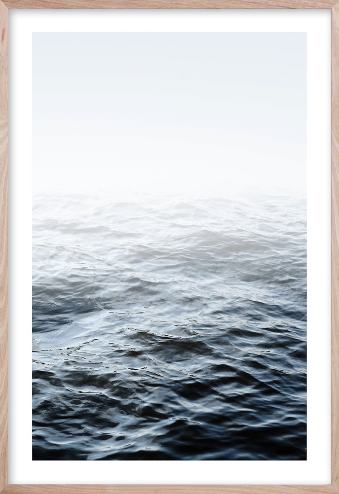 OCEAN CALM  #2 * Contemporary, coastal, photographic, fine art prin