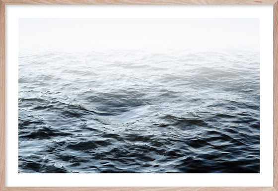 OCEAN CALM  1 * Contemporary wall art, coastal, photographic, fine art print