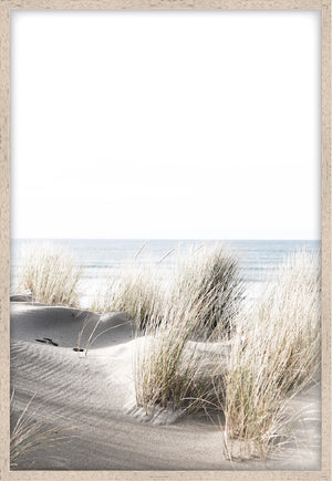 BY THE DUNES #2 * Coastal photographic fine art print of sand dunes