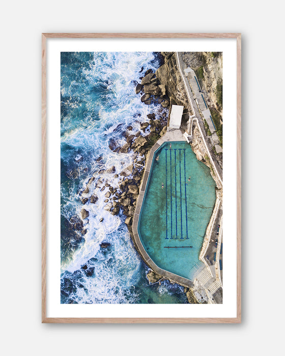 Bronte Pool * Contemporary coastal, photographic, fine art print