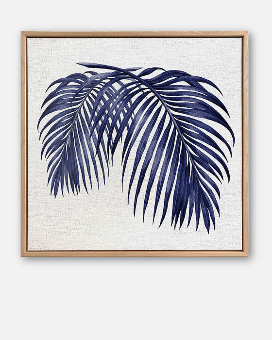 Hampton's Palm Collection #2 Canvas Art | Artwork by Wall Style