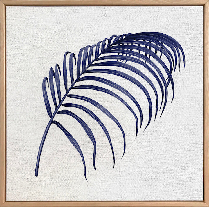 Hampton's Palm Collection #3 Canvas Art | Artwork by Wall Style