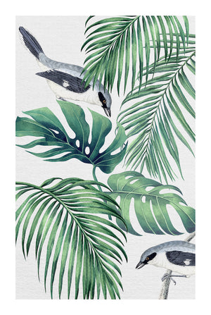 PLANTATION GREEN #1 * Contemporary, tropical fine art print