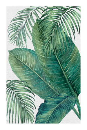 PLANTATION GREEN #3 * Contemporary, tropical fine art print