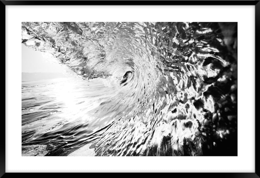 RIDING THE WAVE #2 * Contemporary, photographic, fine art print