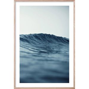 SERENITY 4 Soft Wave Contemporary and Hampton's style coastal wall art