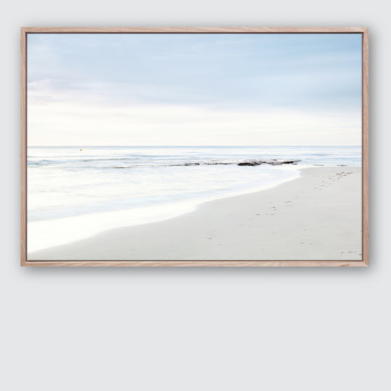 Beach Days 1 Canvas Print | Coastal Style Interior Wall Art Wall Style