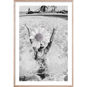 VINTAGE DAISY * Contemporary, photographic fine wall art print