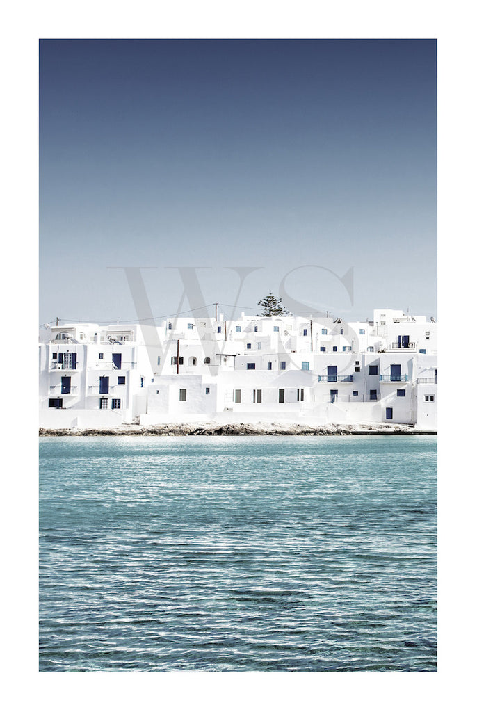 MEDITERRANEAN BLUE #2 * Contemporary, photographic, fine art print