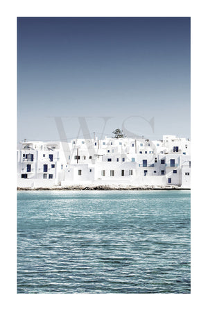 MEDITERRANEAN BLUE #2* Photographic Greek Island fine wall art print