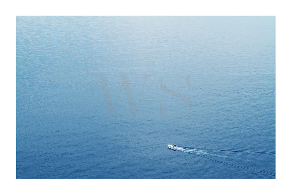 SPEED BOAT MOTION * Contemporary, photographic, fine art print