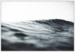 Serenity #1 Canvas Print Photographic ocean wave wall art. Beach style