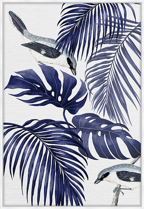 PLANTATION BLUE #1 CANVAS