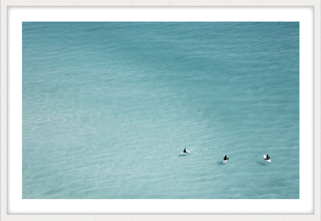 WAITING GAME #2 * Contemporary, oceanic, archival quality, designer art print